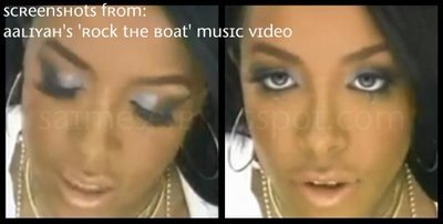 Video Chick Aaliyah S Rock The Boat Glam S C A M Beauty