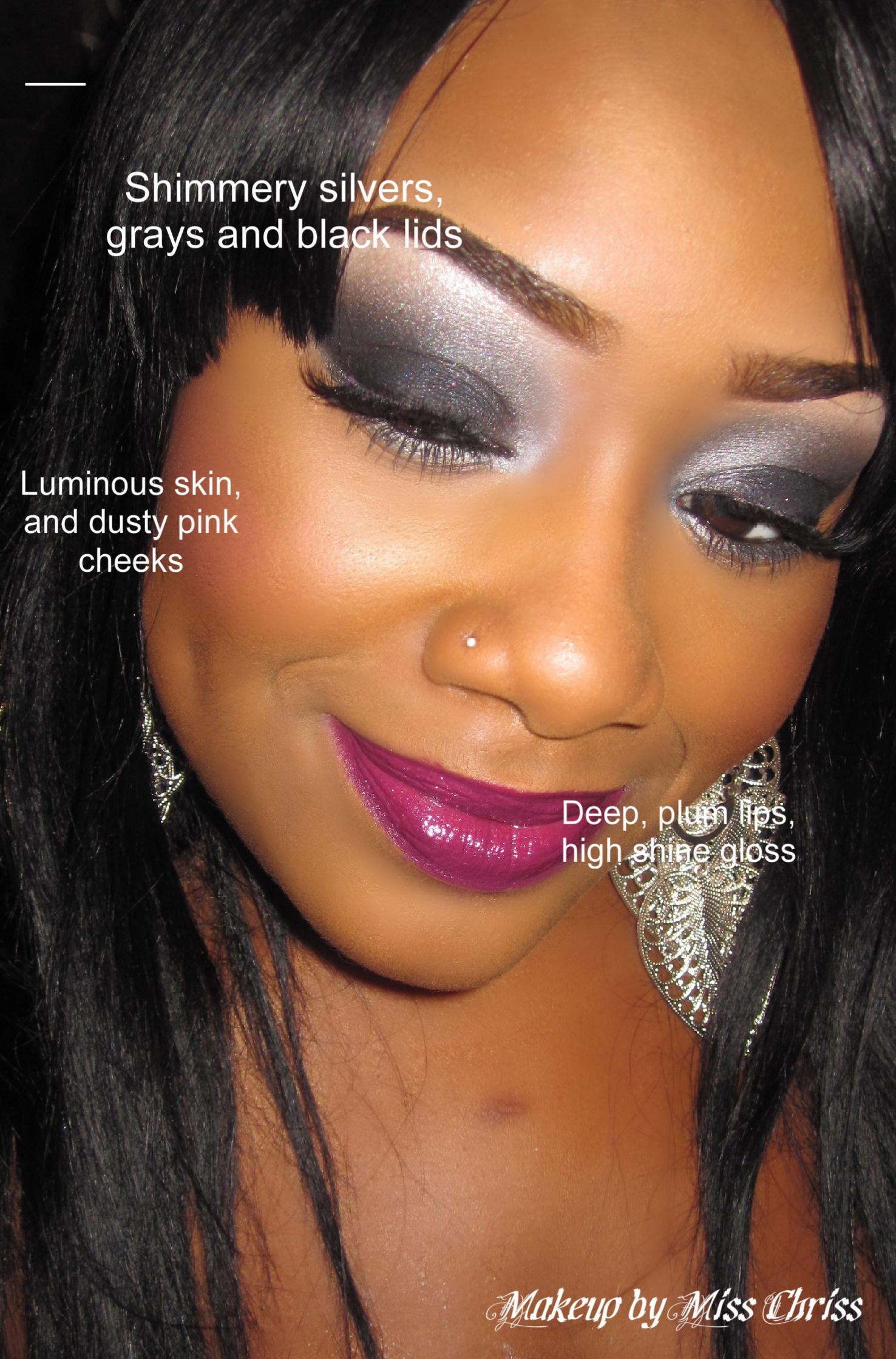 Iman makeup